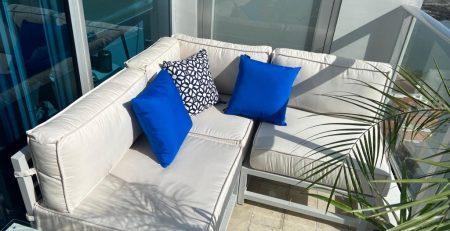 Muebles para balcón en Panamá